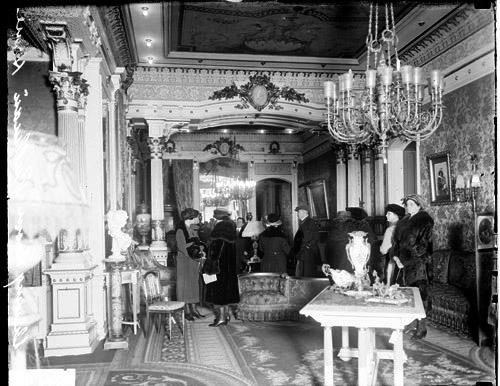 Leben wie ein König: Innenansicht der Pullman-Residenz
