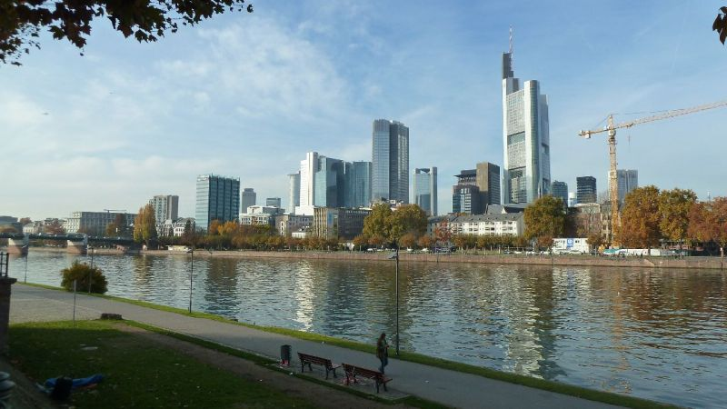 Herbst in Liberty City. Äh. Ich meinte: In Frankfurt.