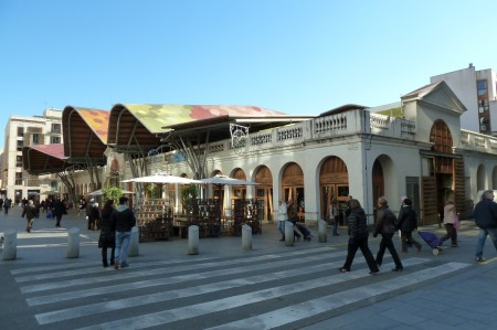Markthalle in der Altstadt