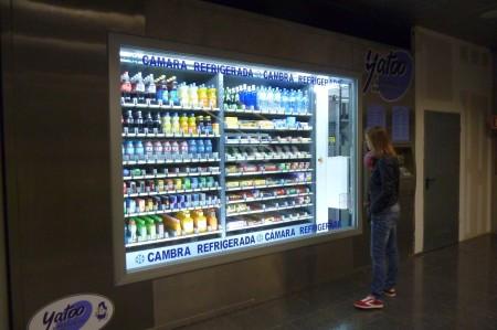 Der am zweitbesten sortierte Erfrischungsgetränkeautomat, den ich je gesehen habe,