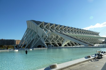 Naturkundemuseum und Science Center. Das Gebäude ist so dermaßen groß, dass selbst...