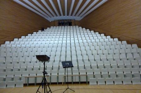 Die kleine Bühne, für Kammermusik
