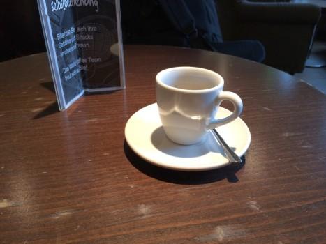 Jede große Reise beginnt mit einem kleinen Kaffee.