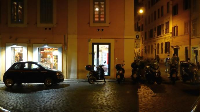 Fantastiches Fruchteis git es in der L´Arena del Gelato in der Via di Porta Castello.