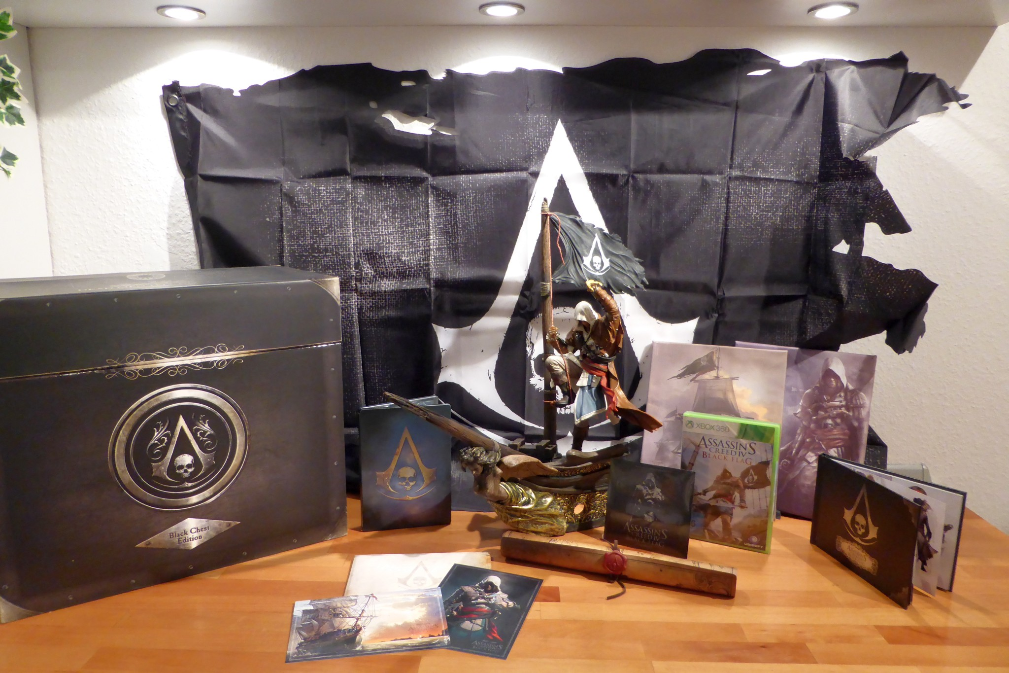 unboxing assassins creed iv black chest edition silencers blog. Black Bedroom Furniture Sets. Home Design Ideas