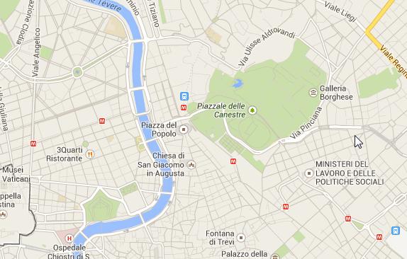 Villa Borghese: Verdammt großer park mitten in Rom.