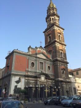 Hat auch schöne Ecken: Kirche in Neapel.