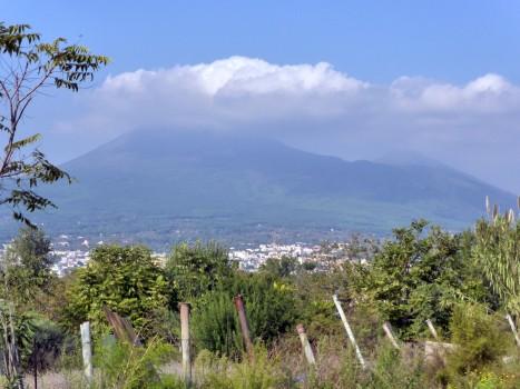 Er war schon einmal das Schicksal von Pompeji: Der Vesuv.