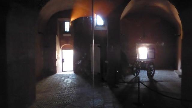 Eingang zum Passetto.