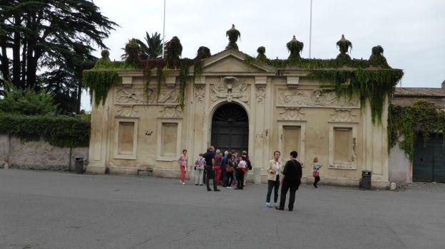 Das Tor der Ritter von Malta.