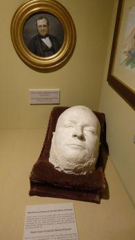 Totenmaske von Cavour.