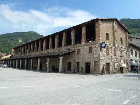 Markthalle in Gubbio.