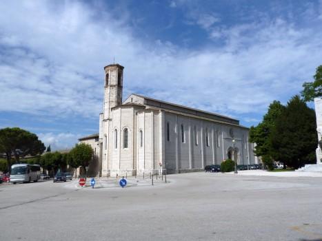 Kirche in Gubbio.