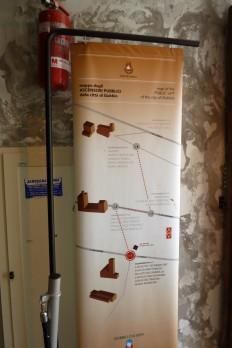 Gubbio hat drei: Ort, Palazzo der weltlichen Regierungm Kathedrale. Alles durch Aufzüge verbunden.