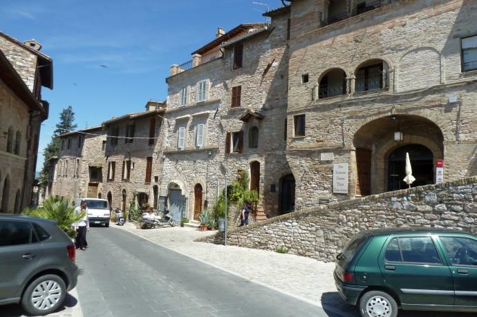 Nettes Städtchen, dieses Assisi.