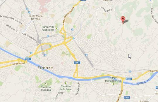 Hier steht die Villa Auditore,  eine Stunde nördlich von Monteriggioni.