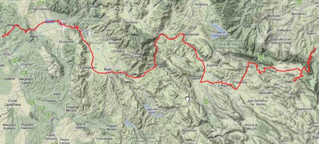 Tour des Tages: Rund 265 Kilometer.