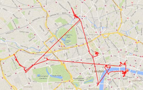 Erst nach Westen, zur Portobello Road, dann ins nördlich gelegene Camden, dann in die Galerien am Themseufer. Das war Tag 3 in London.