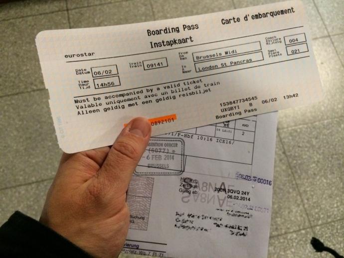 Boarding-Karten?!