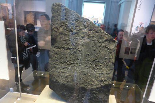 Stein von Rosetta, Rückseite.