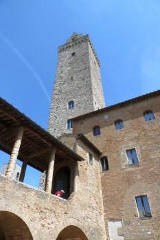 Der Torre Grosso, der große Turm.