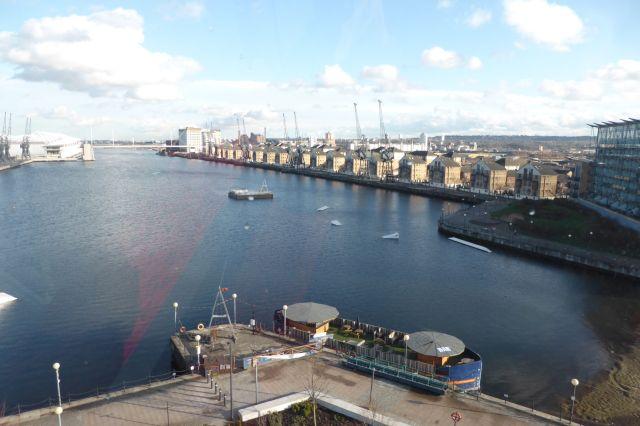 Die Docks, eines der In-Viertel von London.