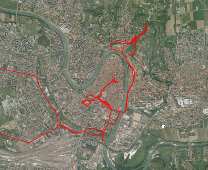Kurverei durch Verona
