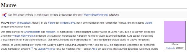 http://de.wikipedia.org/wiki/Mauve