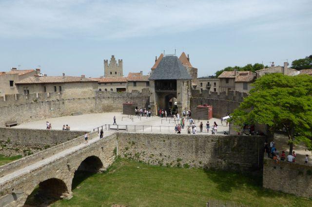 Blick aus der Citadelle in die Altstadt