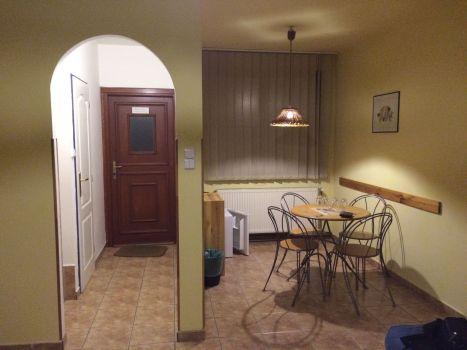 Apartment in der Pension 15 in Prag.
