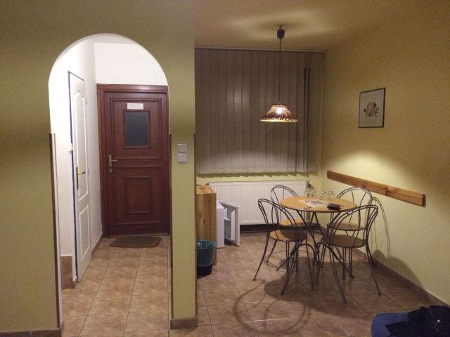 Apartment in der Pension 15 in Prag.