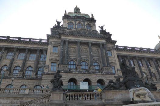 Das Naturkundemuseum.