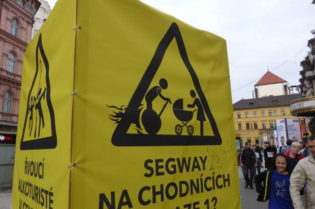 Parteien machen Wahlkampf mit einem Segway-Verbot.