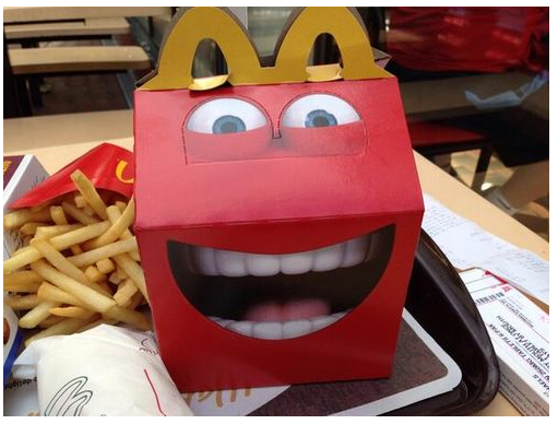 Creepy happy meal