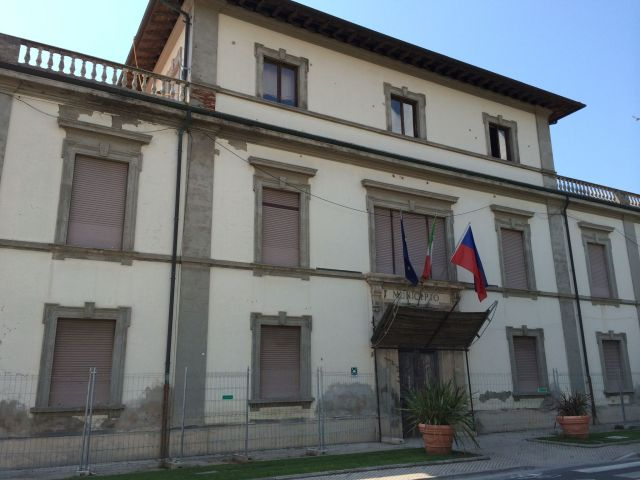 Rathaus von San Vincenzo.