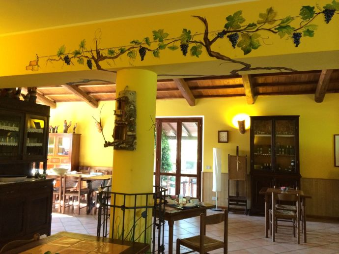 Gastraum von Piana delle Selve.