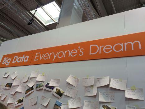 Davon träumt die Branche: Alle Daten, von jedem, immer und überall, BIIIIG DATA!!!! Man kann die Erektion mancher Firmen förmlich spüren.