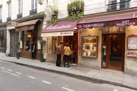 Das beste Eis von Paris: Berthillon. Der Stammsitz ist  auf der Île Saint-Louis, aber mittlerweile gibt es mehrere Fillialen im Stadtgebiet.