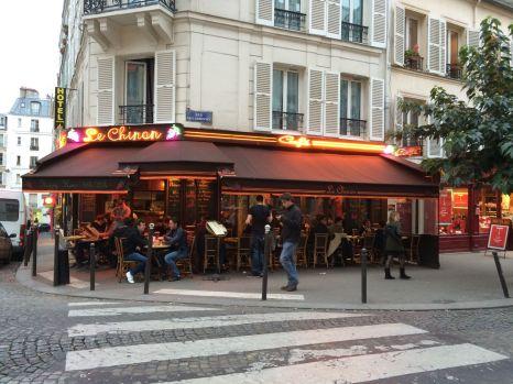 Montmartre, das Viertel hinter dem Moulin Rouge.