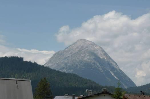 Die Zugspitze.