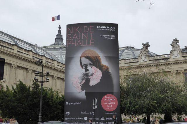 Verfolgt mich auch überall hin: Nikki de Saint Phalle.