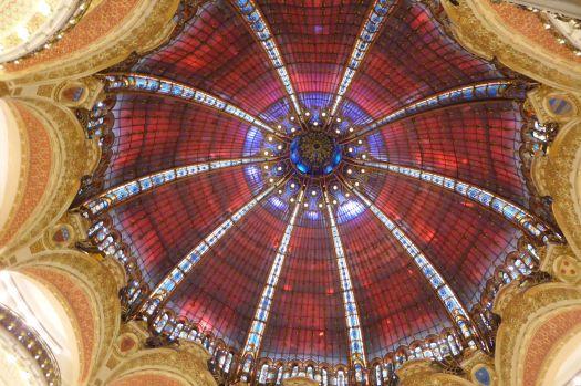 Kuppel des Kaufhauses La Fayette.