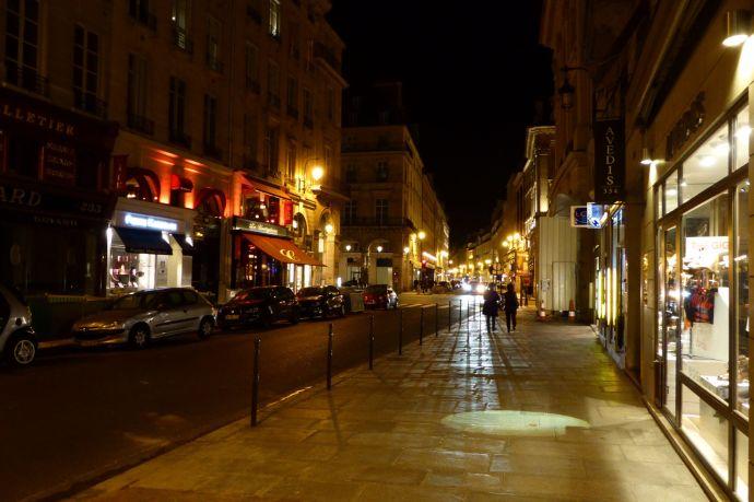 Rue de Rivoli.