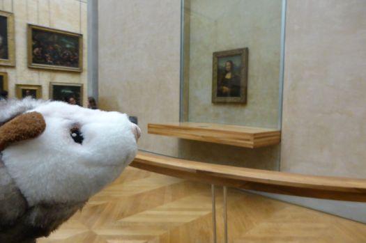 Zeitloses Meisterwerk. Und die Mona Lisa.