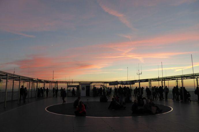 Besucherpplattform auf dem Tour Montparnasse.