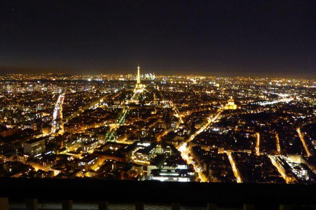 Bild: Silencer.  (c)  Tour Eiffel – Illuminations Pierre Bideau.