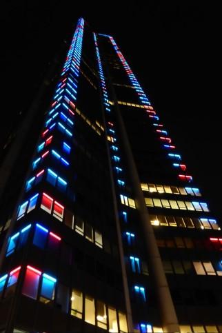 Bei Nacht ist er schöner: Außenbeleuchtung des Tour Montparnasse.