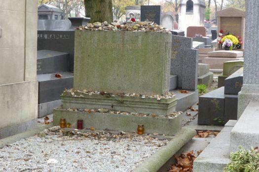Grab von Gertrude Stein.