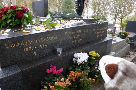 Grab von Edith Piaf.