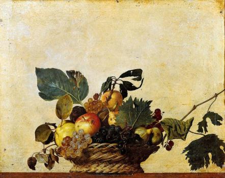 Caravaggios Obstkorb, das erste Stillleben.